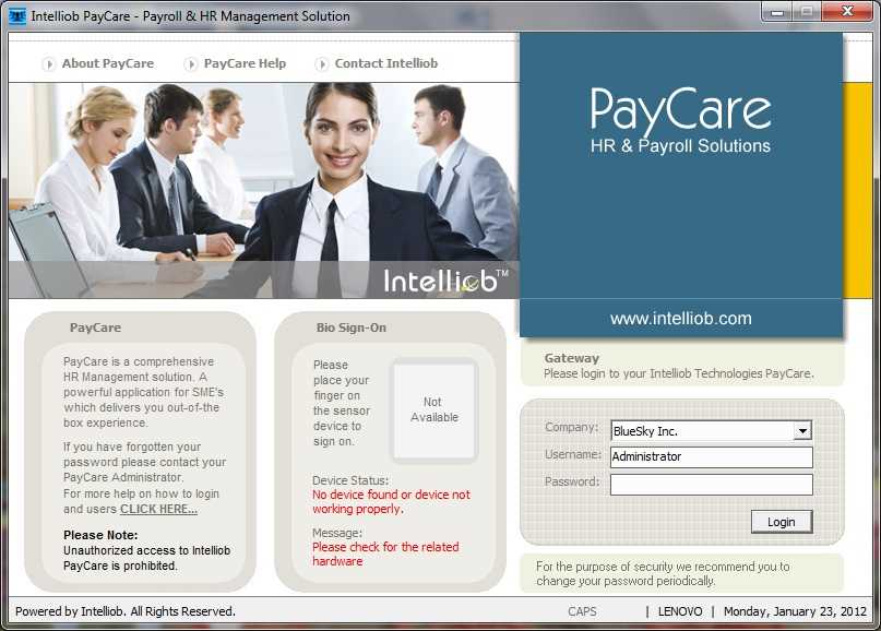 PayCare Screenshots