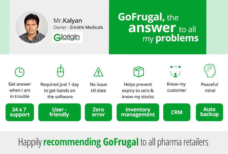 GoFrugal Pharmacy Software