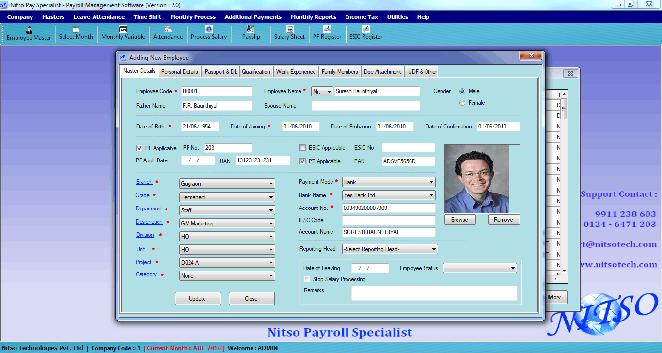 Nitso Payroll Software - Pricing, Reviews, Alternatives and ...
