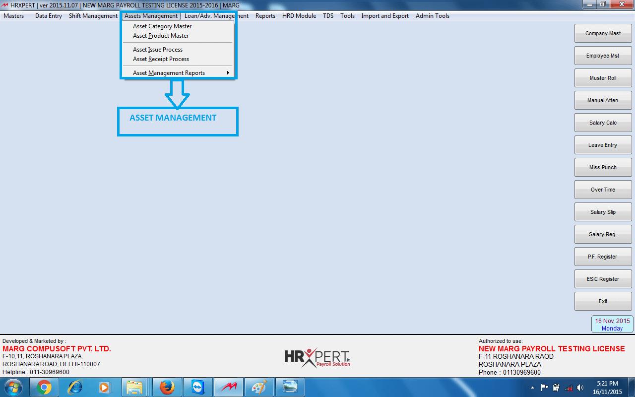 MARG ERP 9+ HR Xpert Software