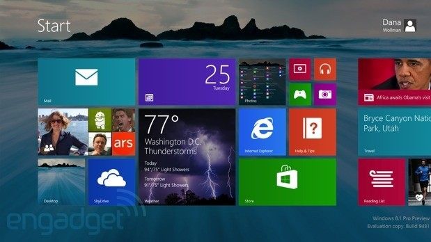 Windows 8.1 Screenshots