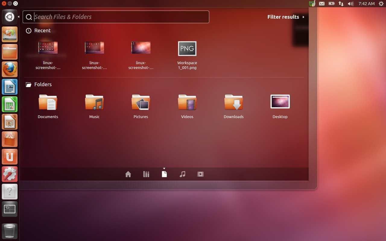 Ubuntu Screenshots