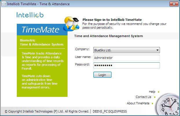 TimeMate Screenshots