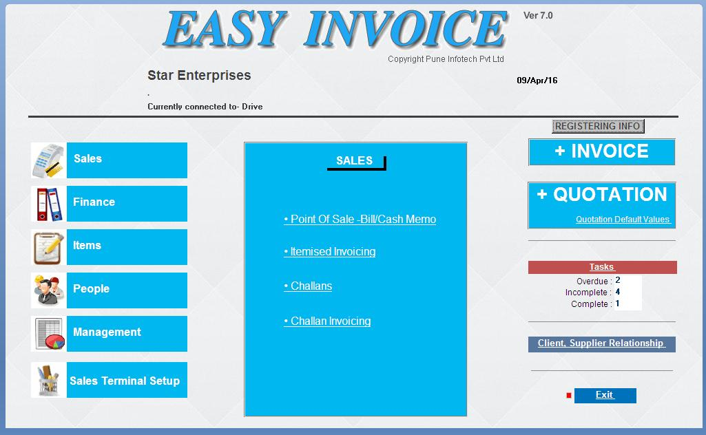 Easy Invoice TM Pricing Reviews Alternatives And Competitor In - Easy invoice software