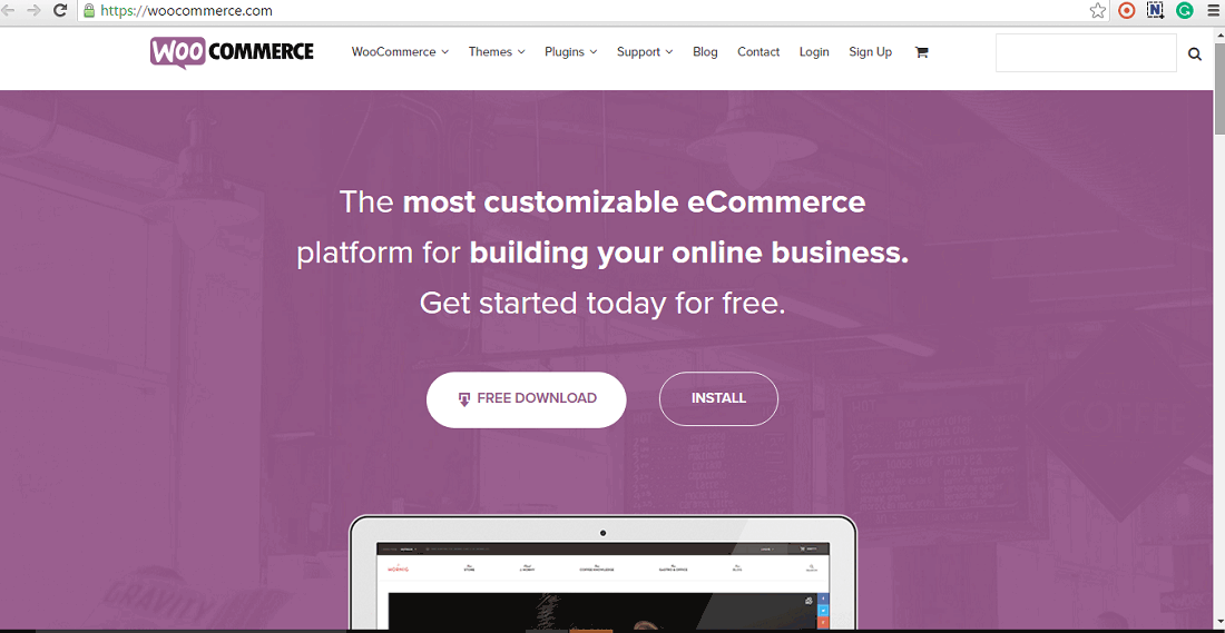 WooCommerce Screenshots