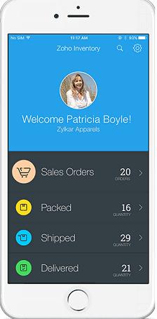 Zoho Inventory  Screenshots