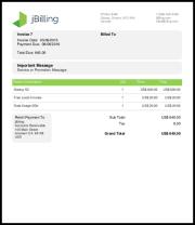 jBilling Screenshots