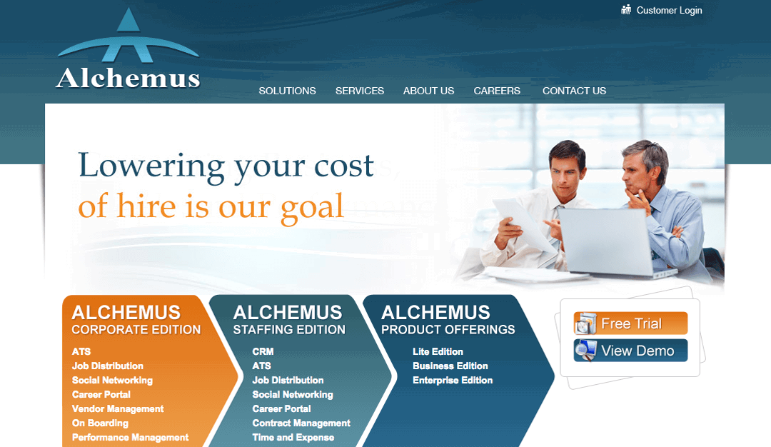 Alchemus  Recruiting & Talent Management Screenshots