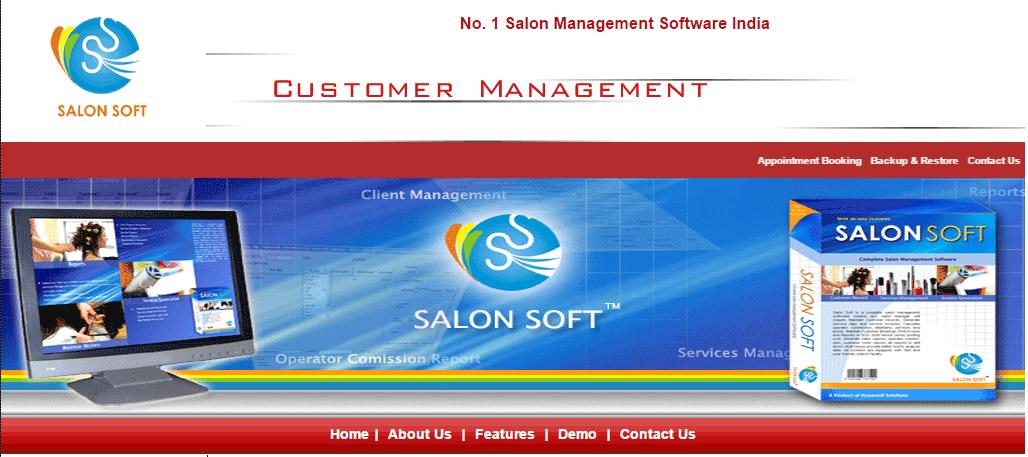 Salon Soft Screenshots
