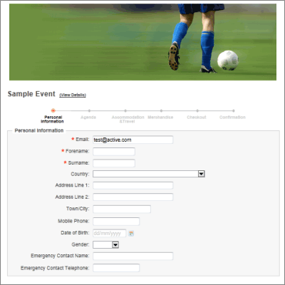 Active Network Screenshots