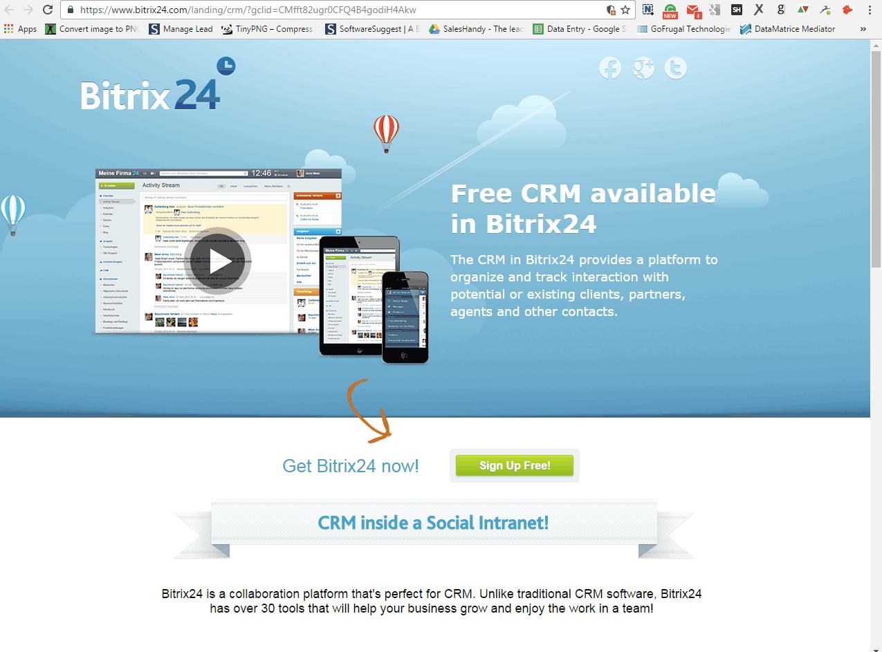 Bitrix24 Screenshots