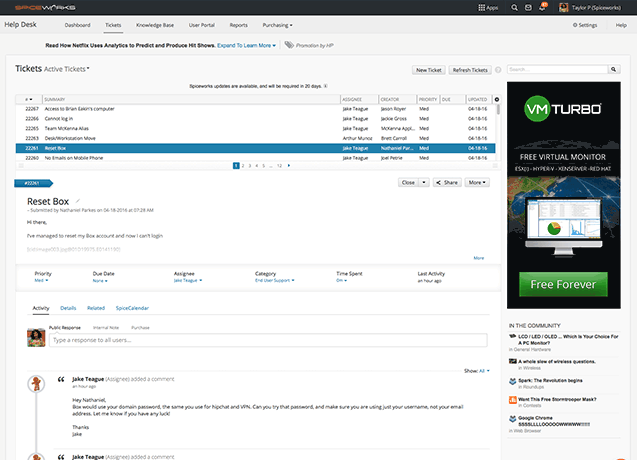 Spiceworks Pricing Reviews Alternatives And Competitor