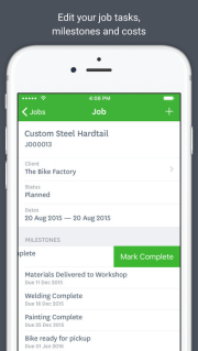 WorkflowMax Screenshots
