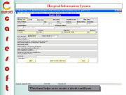 Caresoft Hospital Information System Screenshots