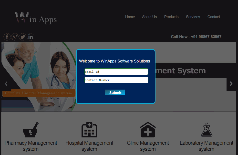 Win Apps Hospital Management System Screenshots