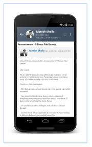 BIZixx Project Management System Screenshots