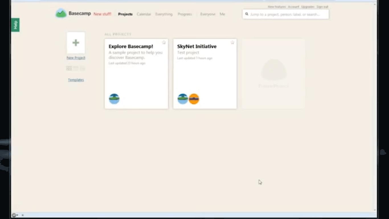 Basecamp Screenshots