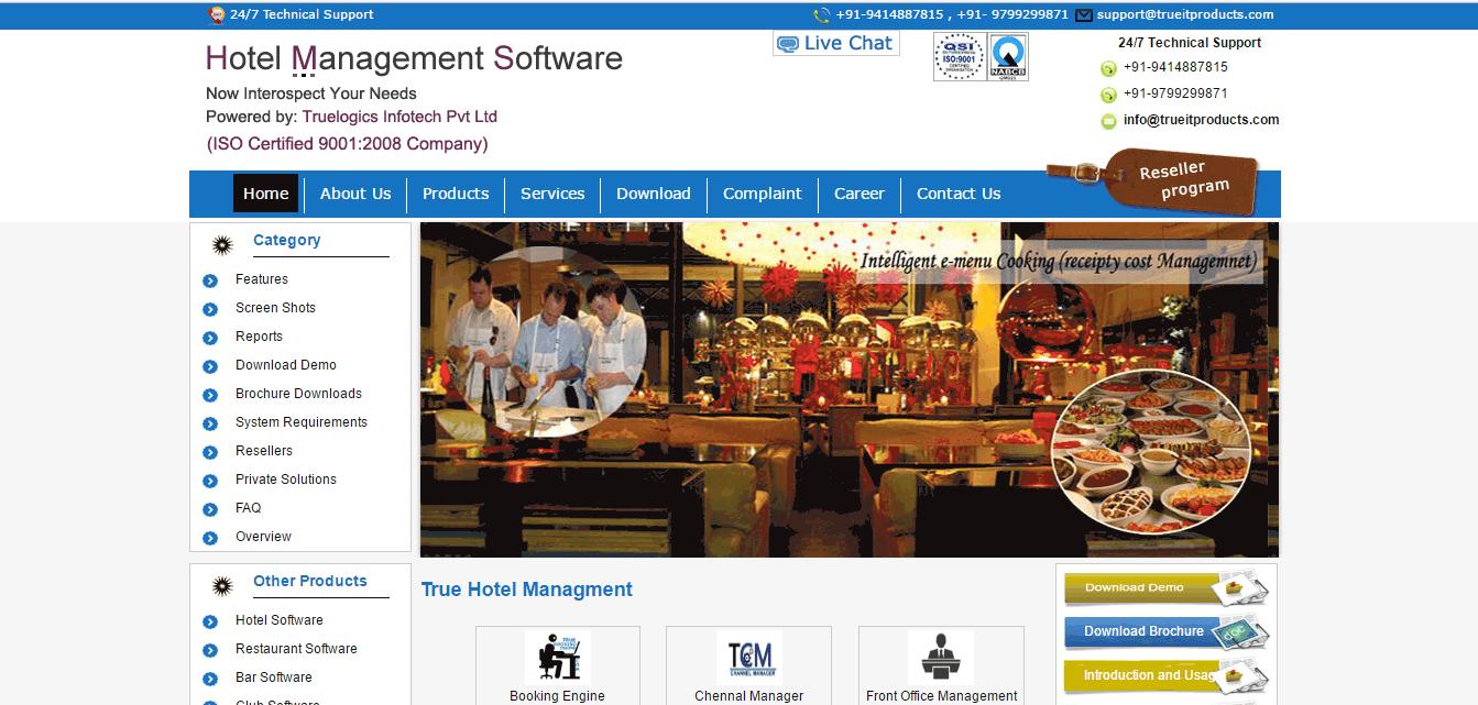 True Restaurant Management Screenshots