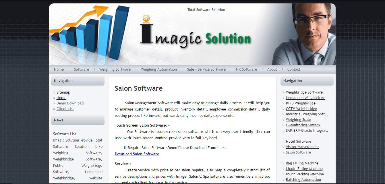Imagic Salon Software