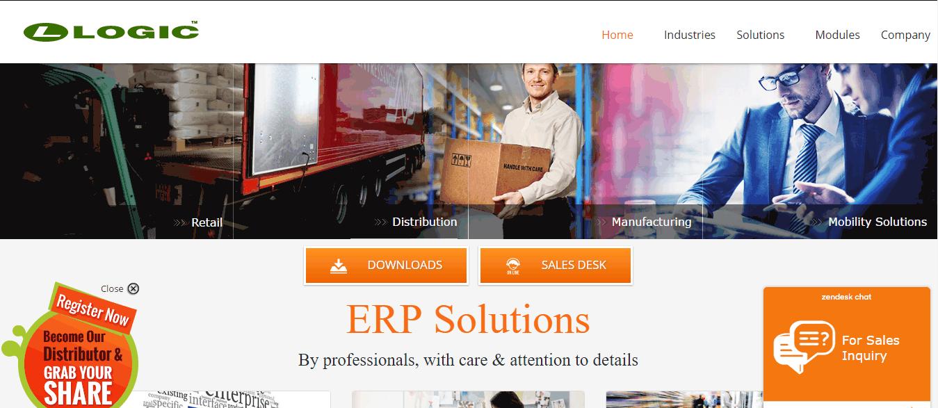 LOGIC Pharma Retail Screenshots