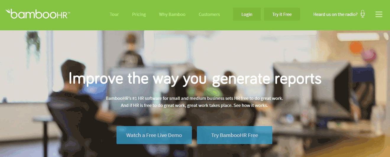 BambooHR Screenshots