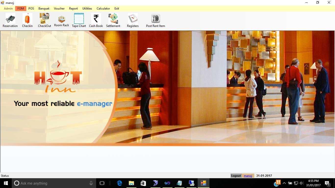 MMI HOT inn - Hotel Software