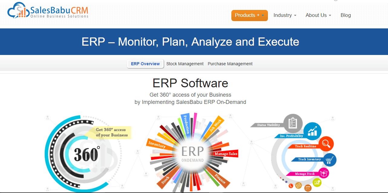 On-demand ERP Screenshots