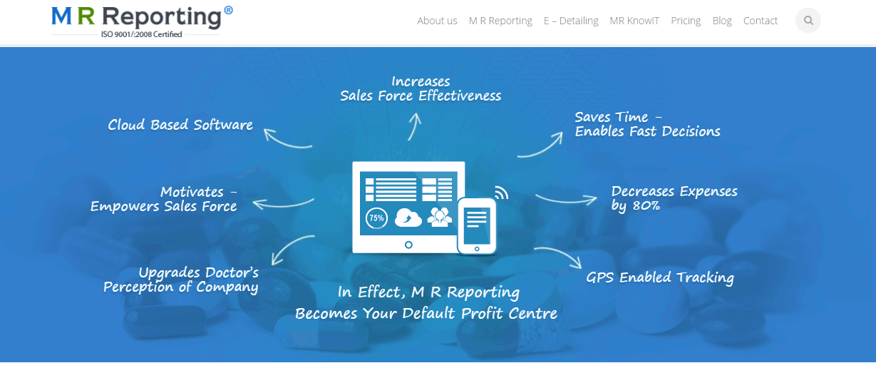 E-Techs MR Reporting Software
