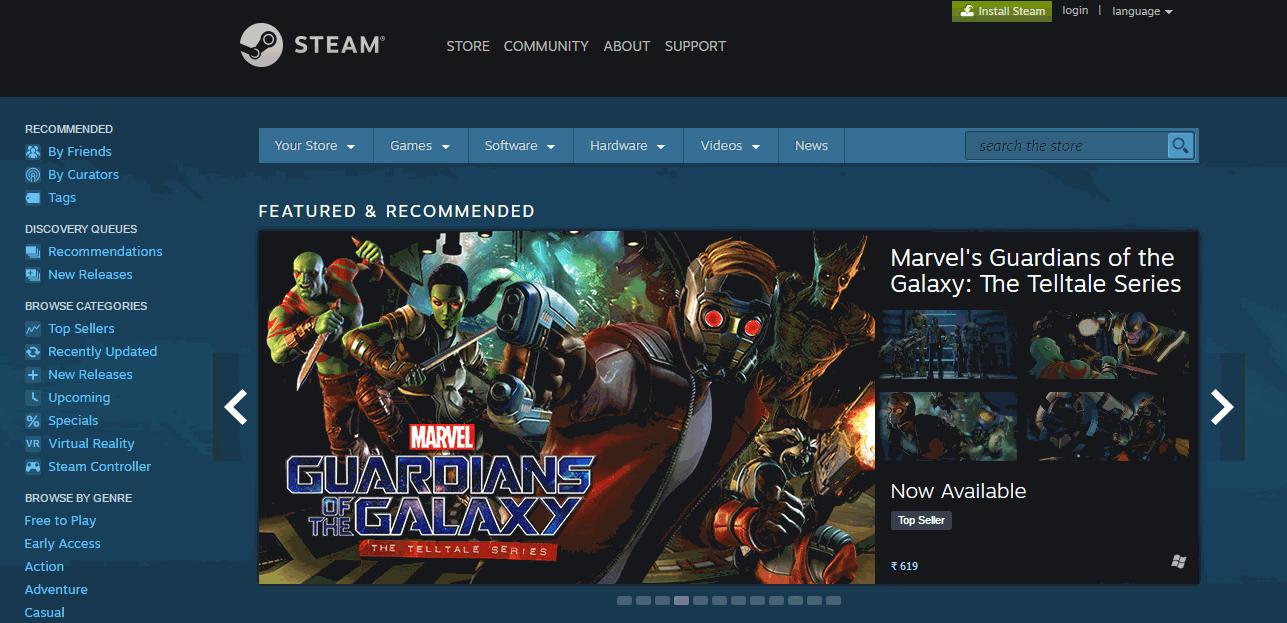 SteamOS Screenshots