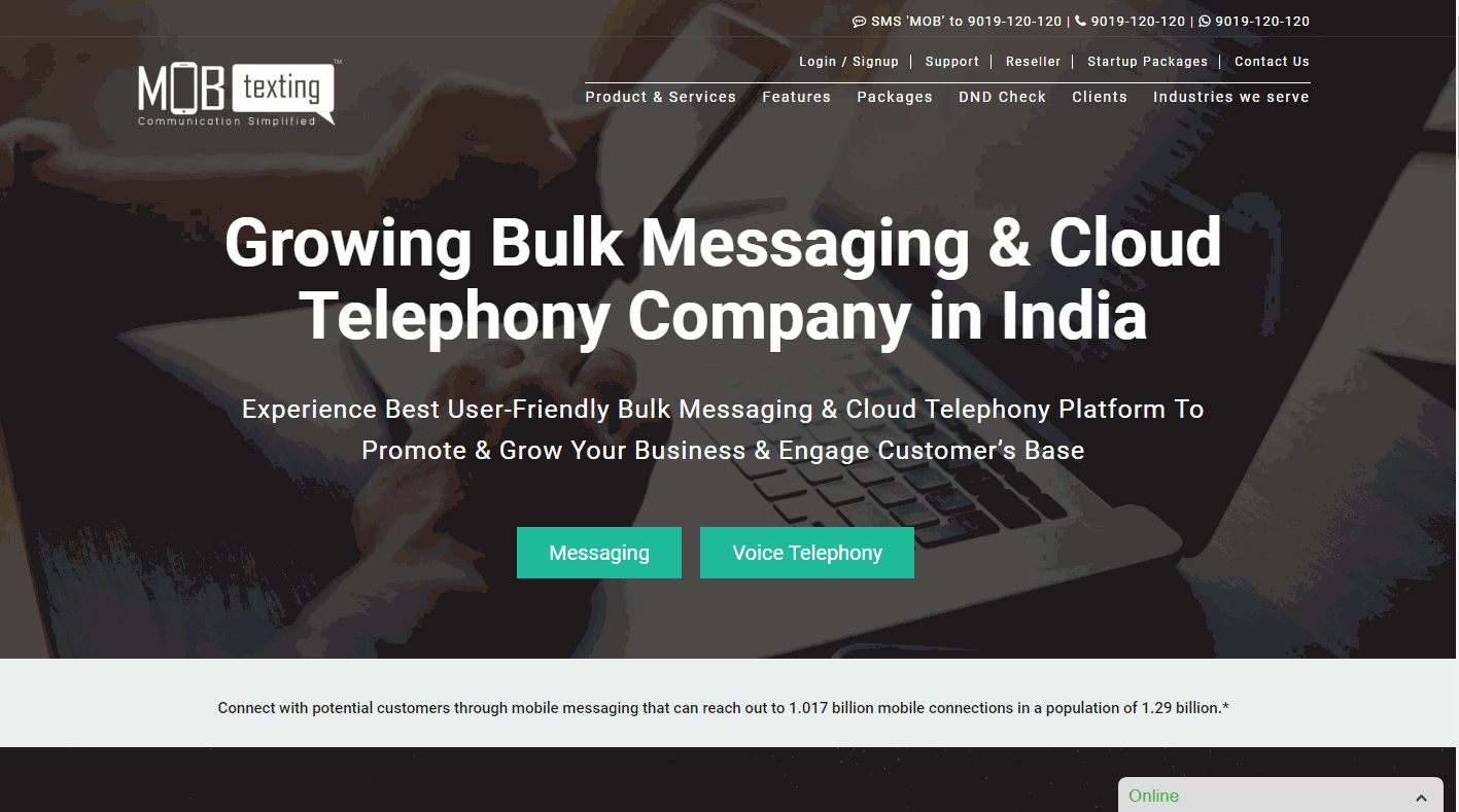 MOBtexting Screenshots