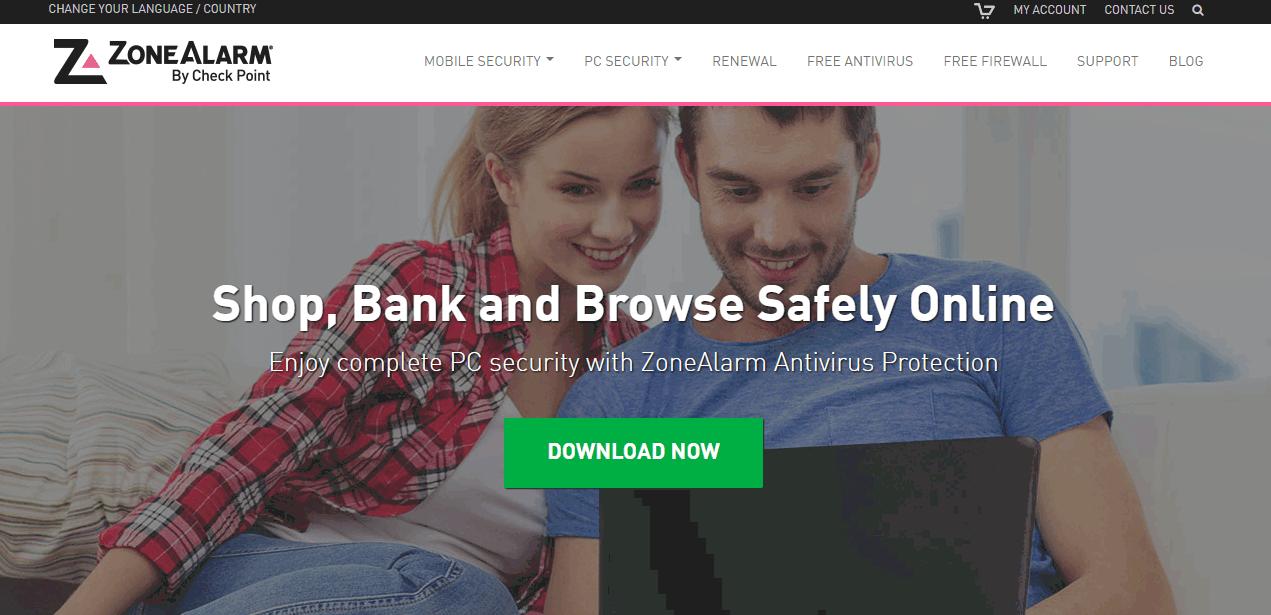 ZoneAlarm Pro Firewall Screenshots