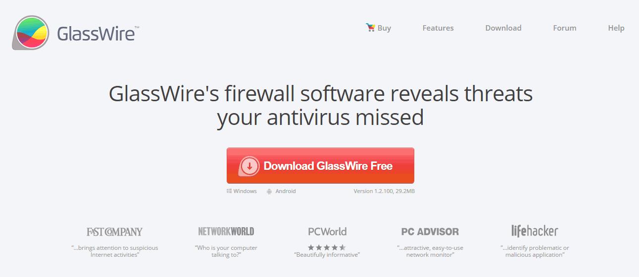 GlassWire Firewall Screenshots