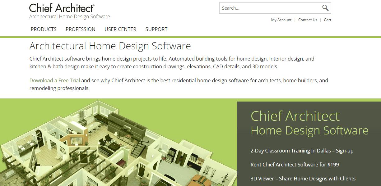 Chief Architect Screenshots