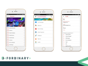 forBinary - Client Engagement Screenshots