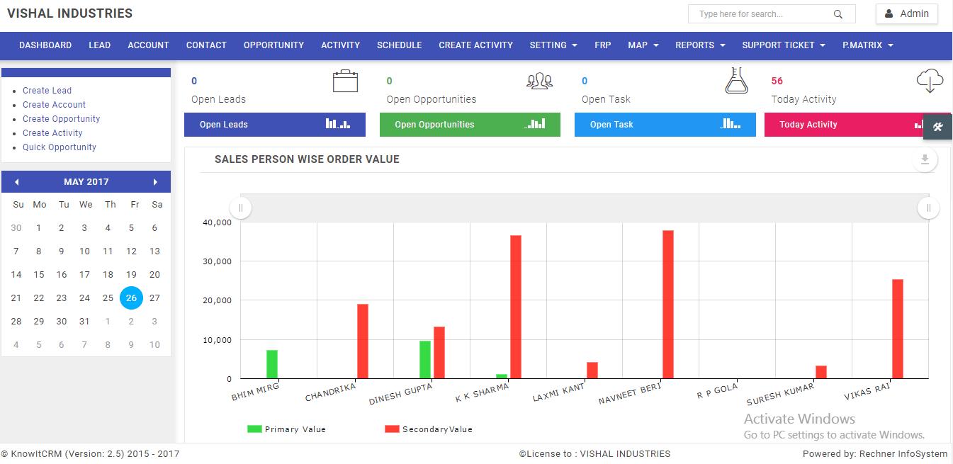 POCO CRM Screenshots