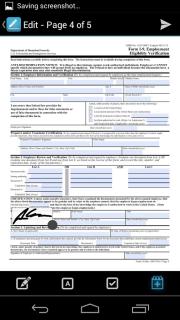 HelloSign Document Management Screenshots