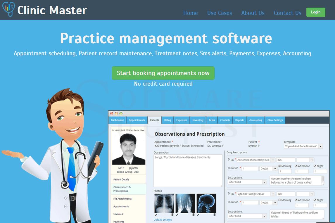 Clinic Master Screenshots