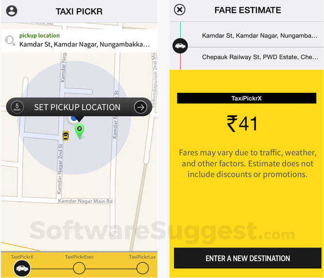 Uber Clone Script - Taxi Pickr Pricing, Features & Reviews