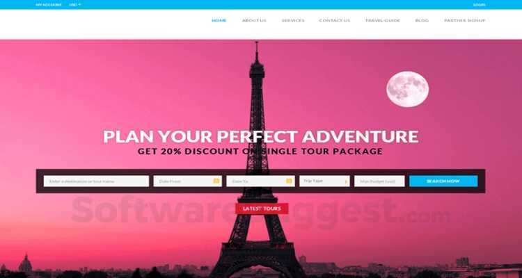 Tour Travel Booking Script - Inet Pricing, Features & Reviews 2019