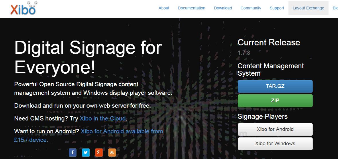 Xibo vs piSignage Comparison in 2019