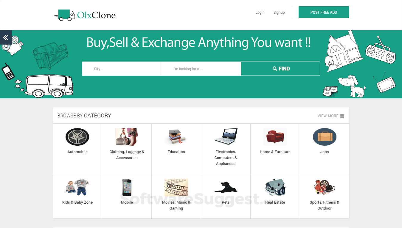 OLX Clone Script Pricing, Features & Reviews 2019 - Free Demo