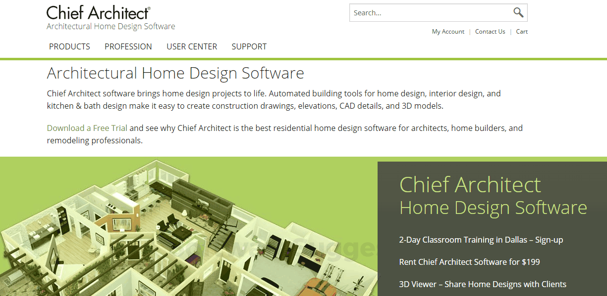 Chief Architect Pricing, Features & Reviews 2019 - Free Demo