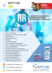 Spine HR & Payroll Pricing, Features & Reviews 2019 - Free Demo