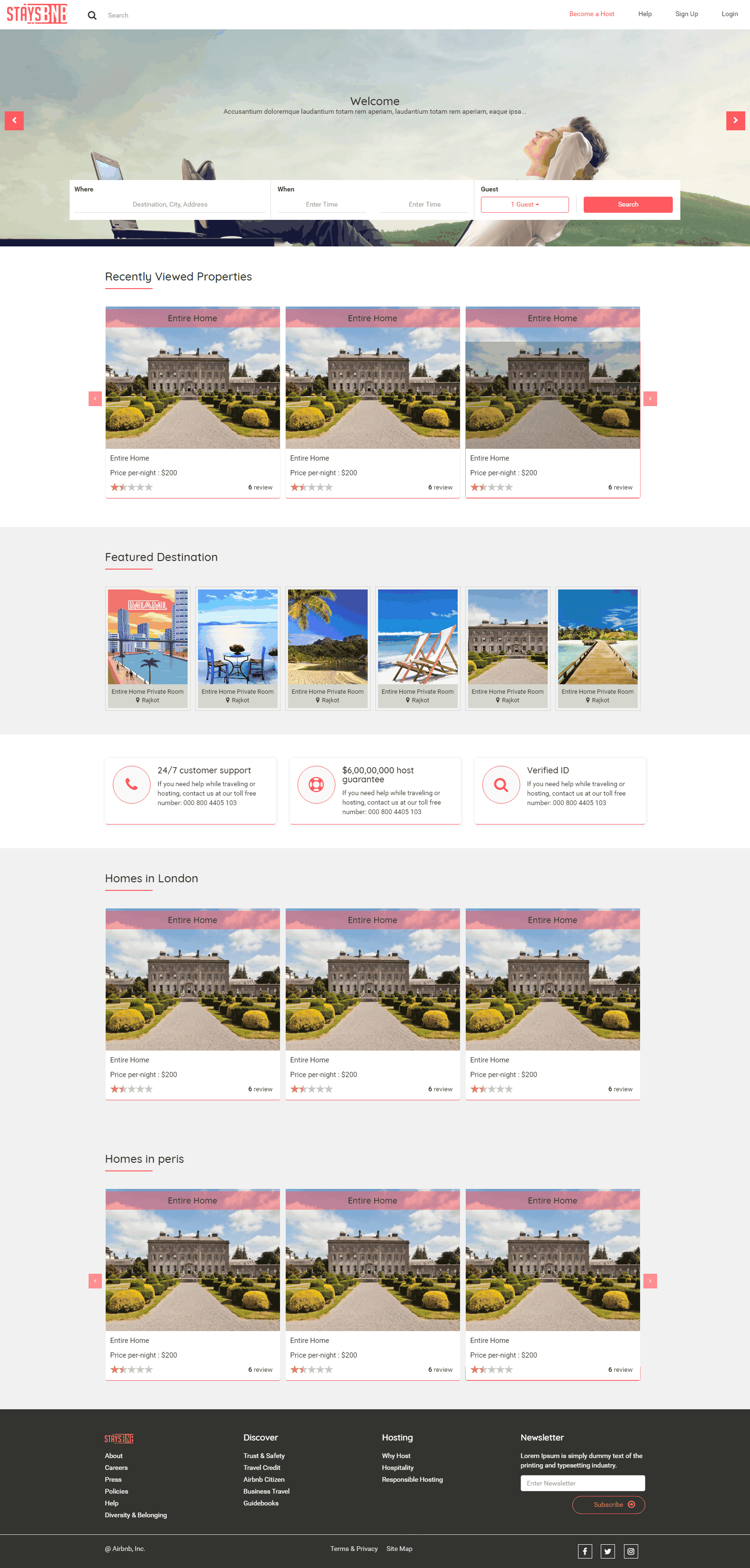 Airbnb Clone - StaysBnB Pricing, Features & Reviews 2019 - Free Demo