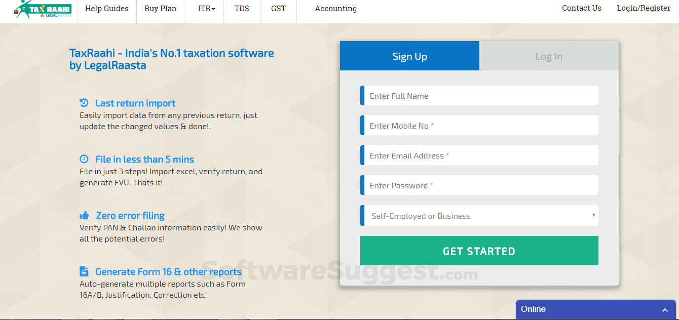 Tds Return Filing Software Pricing Features Reviews 2020 Free