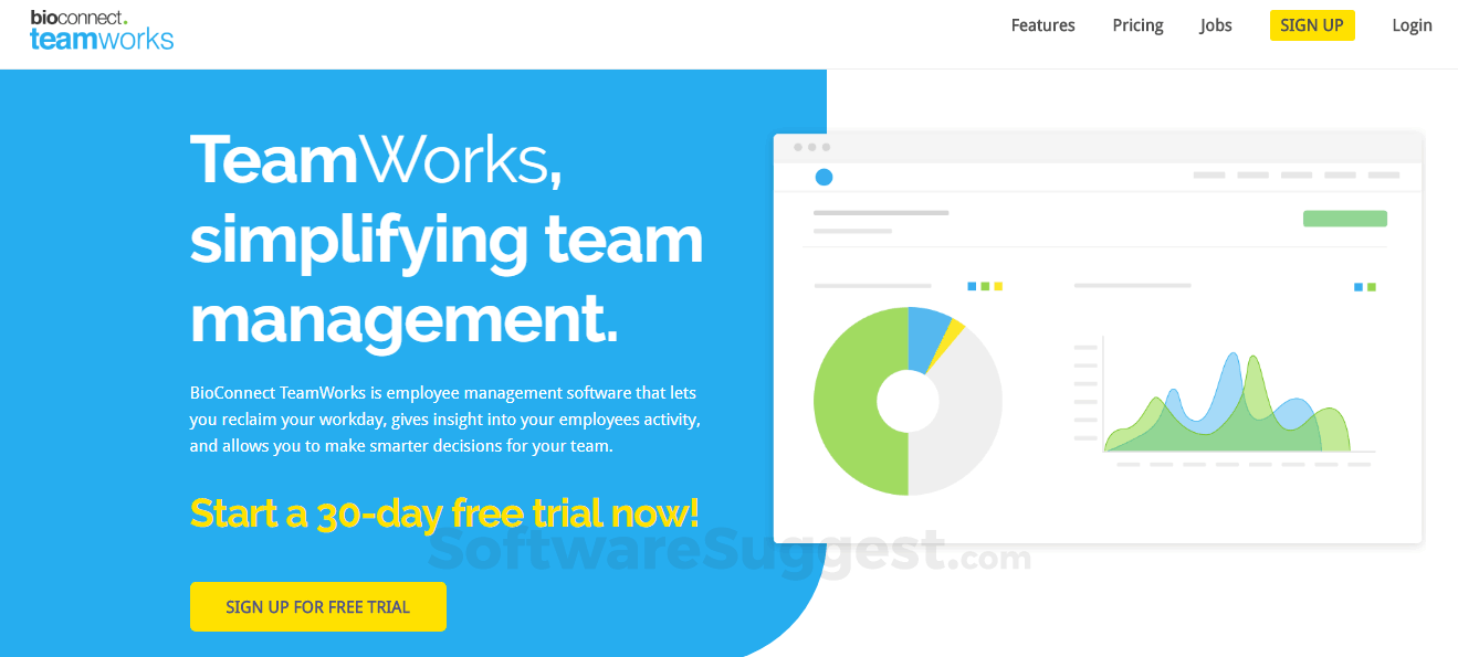 BioConnect TeamWorks Pricing, Features & Reviews 2019 - Free