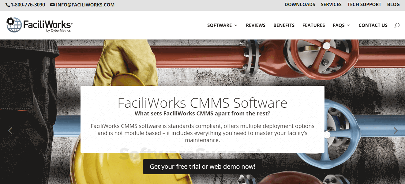FaciliWorks CMMS Software Pricing, Features & Reviews 2019