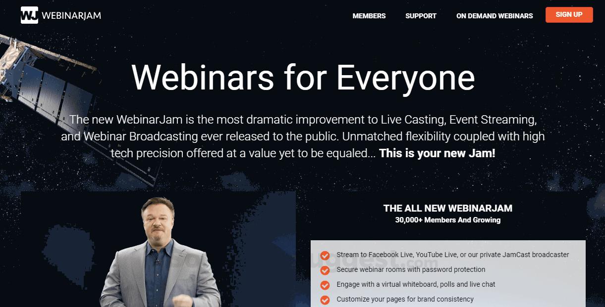 Webinarjam Pricing Features Amp Reviews 2020 Free Demo