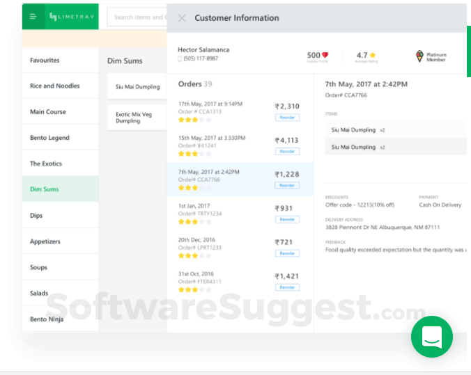 Limetray - Restaurant Management Software Pricing, Features & Reviews 2019  - Free Demo