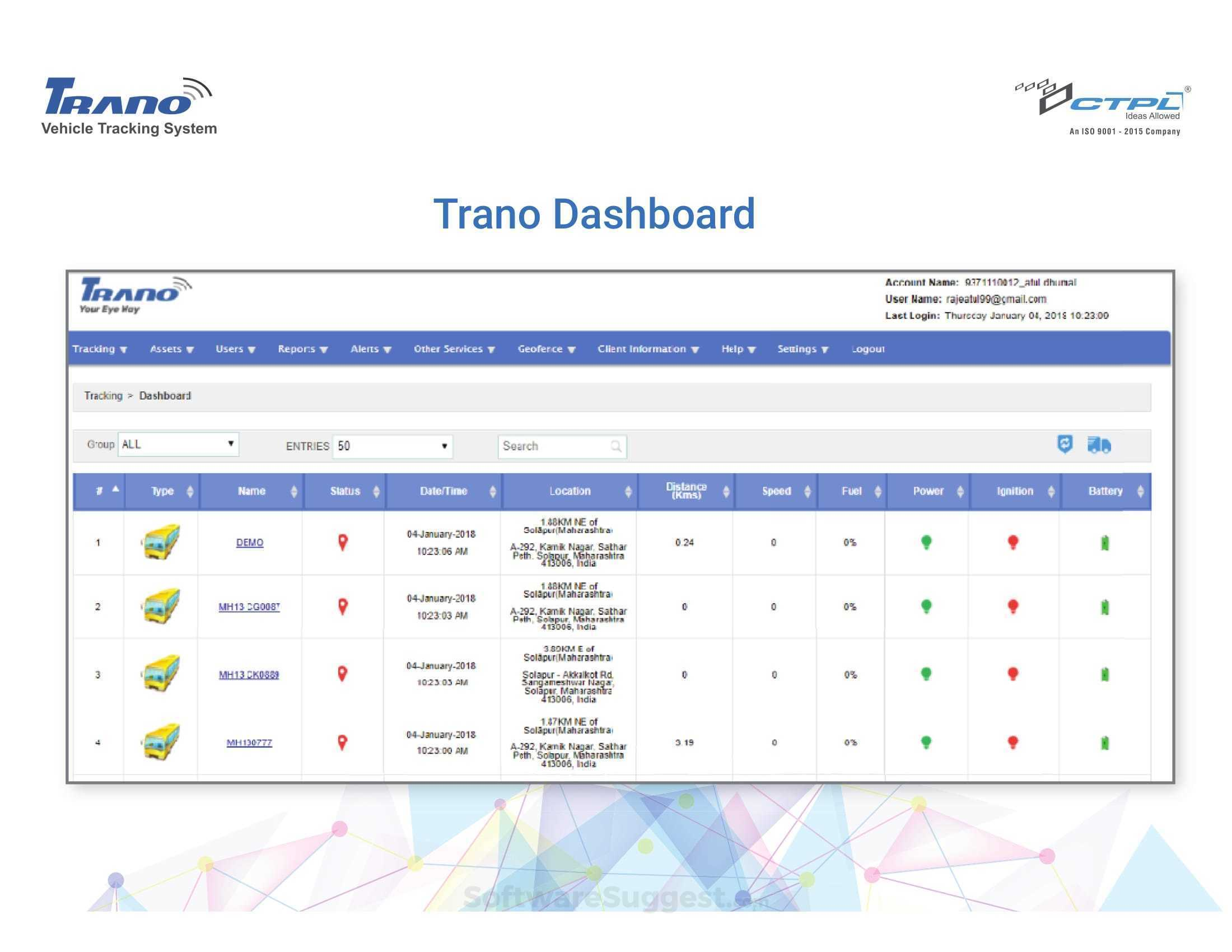 Trano Pricing, Features & Reviews 2019 - Free Demo